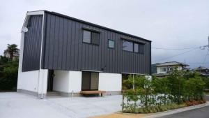 朝倉市持丸分譲地2号地の建物が完成